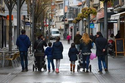 Només podran sol·licitar aquest ajut les activitats que es desenvolupin en establiments ubicats dins la Trama Urbana Consolidada de Rubí. (foto: Ajuntament de Rubí).