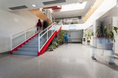 Els cursos es fan de forma presencial a l'edifici Rubí Forma (foto: Ajuntament de Rubí - César Font).