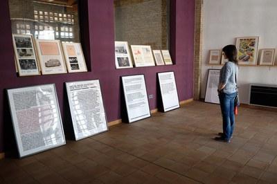 L'exposició ocupa diferents espais del Celler (foto: Localpres)