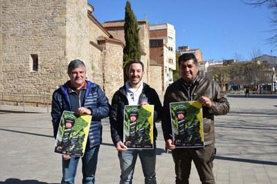 D'esquerra a dreta: Jaume Serra, Jordi Pons i Juan López (foto: Ajuntament).