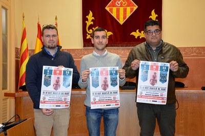 Gerard Rams, Aleix Janer i Juan López (foto: Ajuntament de Rubí).