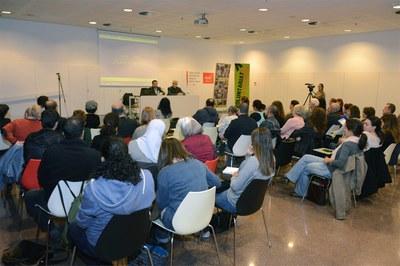 Presentació de la 21a edició del Voluntariat per la Llengua (foto: Localpres).