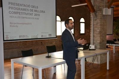 El regidor Jaume Buscallà ha presentat la jornada