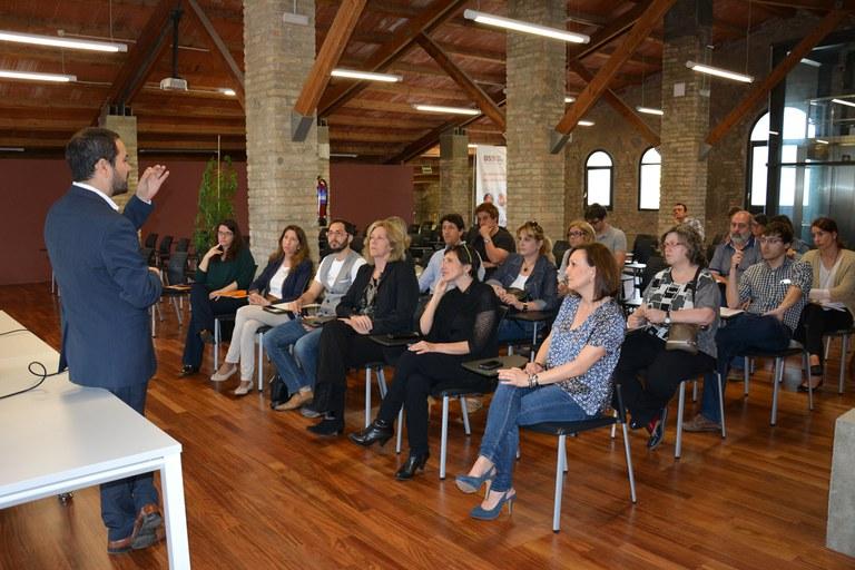Més d'una vintena de representants d'empreses han estat presents a la jornada