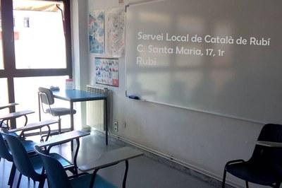 Les inscripcions s'han de formalitzar a les dependències del Servei Local de Català.