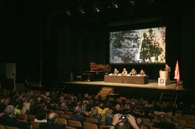 L'acte ha tingut lloc a l'Auditori de Sant Cugat (foto: Ajuntament de Rubí – Lali Puig).