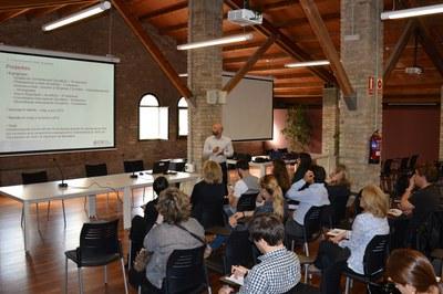 Acte de presentació dels projectes de millora de la competitivitat 2015.