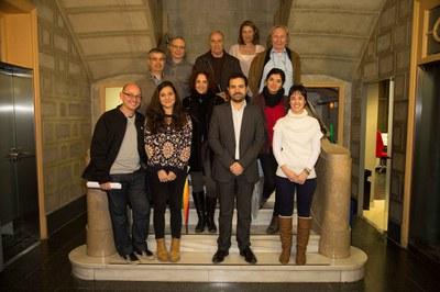 Nou dels dotze membres que formen el Consell Assessor han assistit a la primera trobada d'aquest òrgan (foto: Localpres).