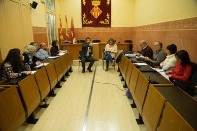 La sala Enric Vergés va acollir la primera trobada del Consell Assessor i Consultiu (foto: Localpres)