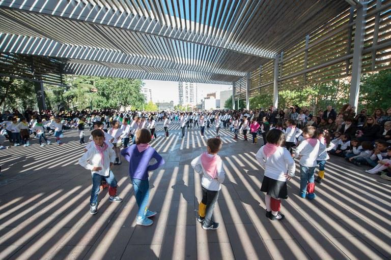 Ballada de les escoles (foto: Localpres)
