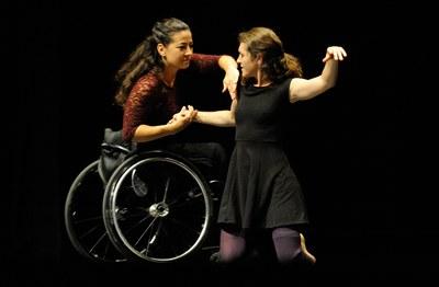Les ballarines de Yur Dance durant l'espectacle (foto: Localpres).