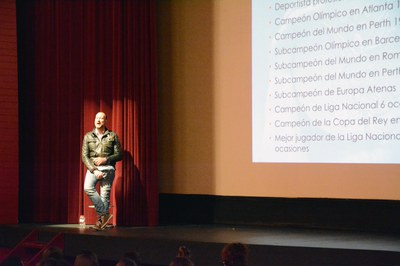 Pedro García Aguado ha explicat els seus èxits esportius.