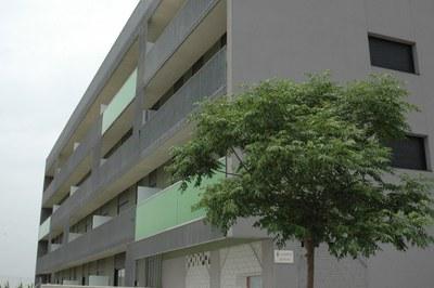 Promoció d'habitatge protegit del carrer de Lepant.