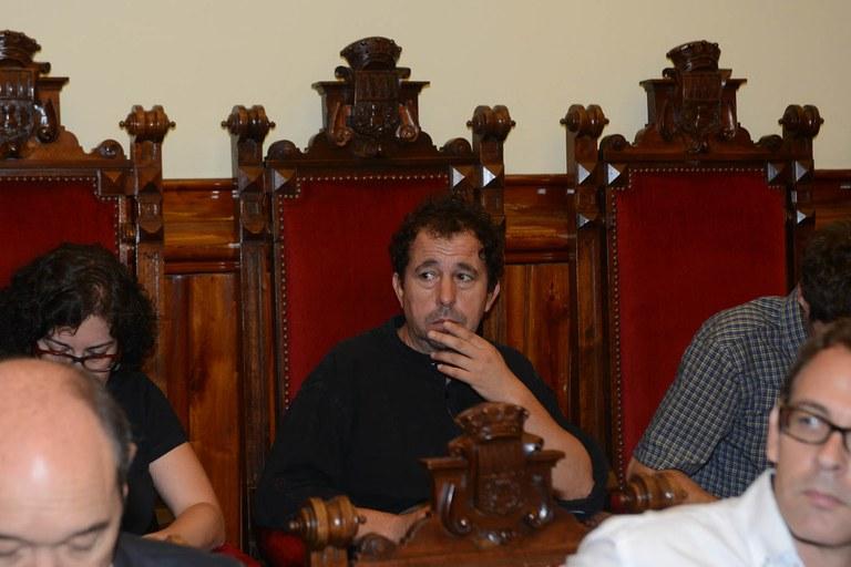 Jordi Muntan forma part del Consell Comarcal en representació de la CUP (foto: Localpres)