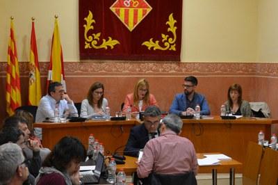 Algunes delegacions seran assumides pels regidors Rafael Güeto i Marta García (foto: Localpres).