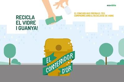 El concurs té com a objectiu incrementar la taxa de reciclatge de vidre als 12 municipis participants.