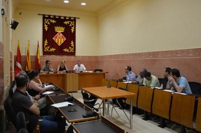 L'alcaldessa Ana María Martínez ha presidit el Comitè Local de Seguretat, que s'ha reunit aquest dimarts.