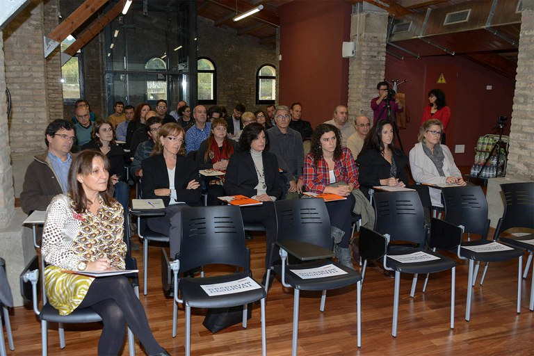 La jornada s'ha fet al fòrum de la Masia de Can Serra (foto: Localpres)
