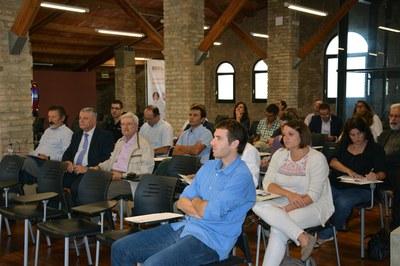 Públic assistent a la sessió