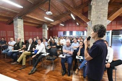 La jornada ha omplert el Fòrum de la Masia de Can Serra  (foto: Ajuntament de Rubí – Localpres).