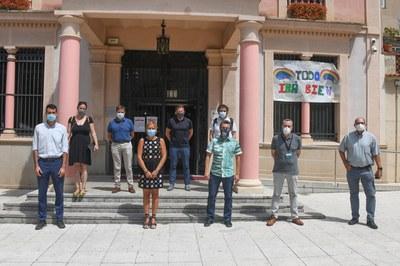 Aquest migdia s'ha donat a conèixer el projecte als mitjans de comunicació (foto: Ajuntament de Rubí – Localpres).