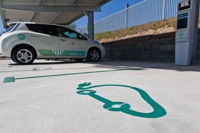 Una de les iniciatives que ha impulsat l'equip de Rubí Brilla ha estat la promoció del vehicle elèctric (foto: Localpres).