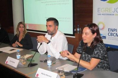 Tècnics del projecte Rubí Brilla han participat recentment en una trobada de partners a la Cambra de Comerç i Indústria de Terrassa.