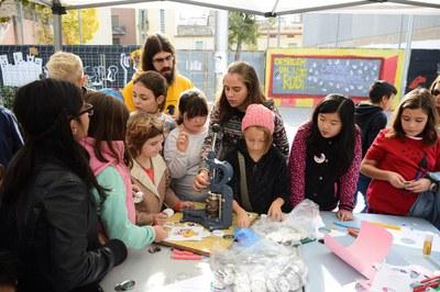 El membres del Consell dels Infants han organitzat tallers (foto: Localpres)