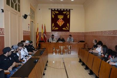 Imatge de la recepció institucional (foto: Localpres)