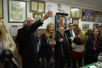 El Vi d'Honor ha tingut lloc a la seu de l'entitat (Foto: Localpres).