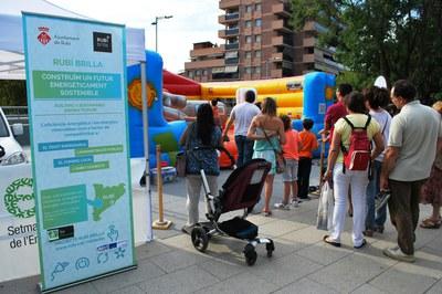 L'Ajuntament organitza diverses activitats cada any per celebrar la Setmana Europea de l'Energia.