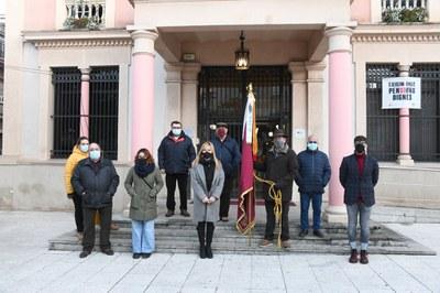 Representants de l'entitat i el govern s'han trobat al consistori (foto: Ajuntament de Rubí – Localpres).