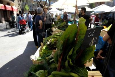 Entre d'altres, a la fira del Dia de la Terra hi haurà mostra de productors agrícoles locals (foto: Localpres) .
