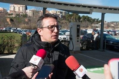 El regidor Rafael Güeto ha presentat les activtats (Foto: Localpres).