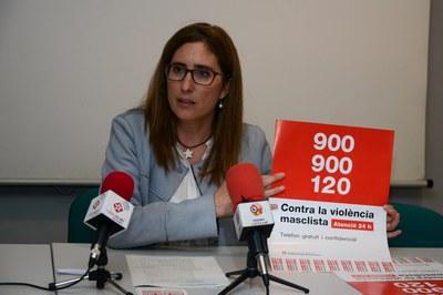 Maria Mas, regidora de Polítiques d'Igualtat (foto: Localpres).