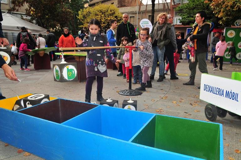 Els nens han pogut gaudir de diverses activitats durant l'Arrossada de recapte (foto: Localpres)