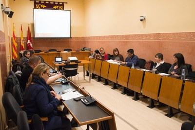 El pla s'ha presentat aquest dimecres en el marc del Consell Municipal de Cooperació Internacional (foto: Localpres).