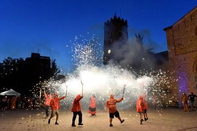 Les entitats de cultura popular i tradicional són les protagonistes de Sant Roc (foto: Localpres).