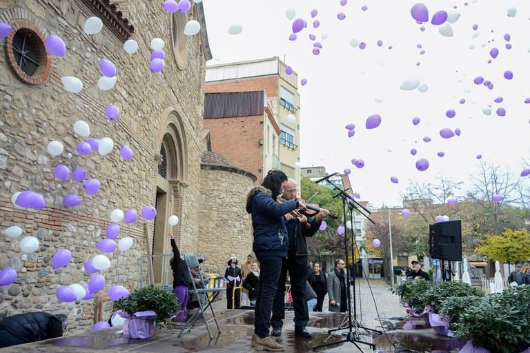 Actuació de l'Escola Municipal de Música Pere Burés (foto: Localpres)