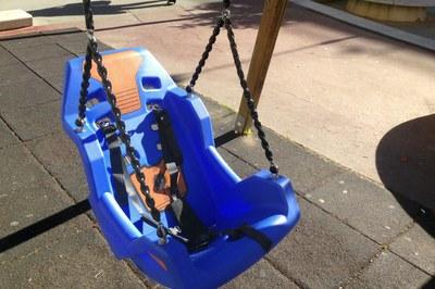 Model de cadireta instal·lat.