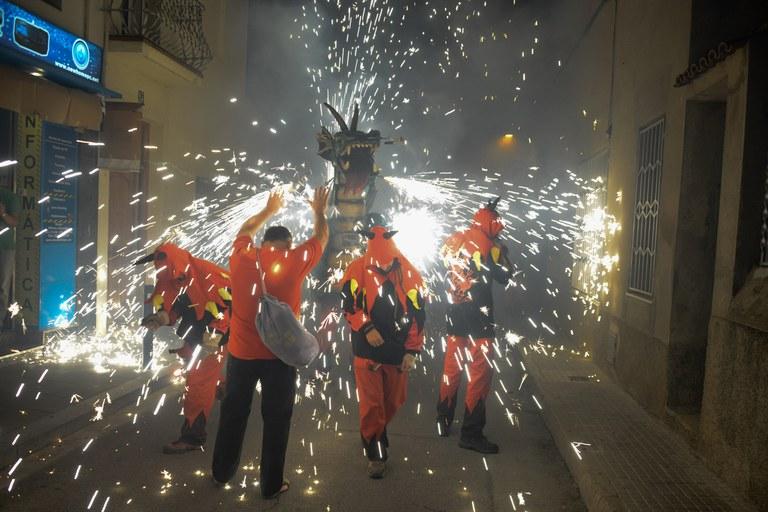 La 4a Trobada de Bèsties de Foc (foto: Localpres)