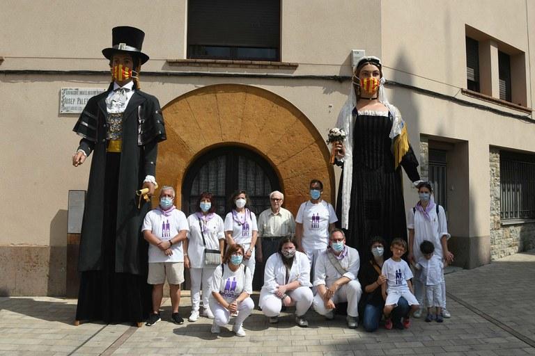 Els Gegants, exposats a Doctor Guardiet (foto: Ajuntament de Rubí - Localpres)