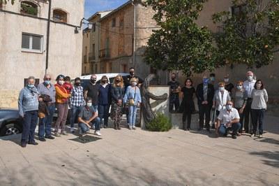L'agermanament s'ha formalitzat a Els Guiamets, població natal de Neus Català Pallejà (foto: Ajuntament de Rubí - Localpres).