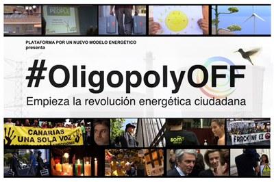 OligopolyOFF, produït per la Plataforma por un Nuevo Modelo Energético, es podrà veure a La Sala el 7 de maig.