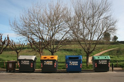 A moltes bateries de contenidors de la ciutat ja s'hi poden dipositar les cinc fraccions (foto: Ajuntament de Rubí).