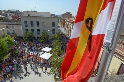 Aspecte de la plaça (foto: Localpres)