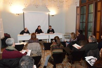 Una quinzena de persones han participat a la primera jornada del seminari (foto: Localpres).