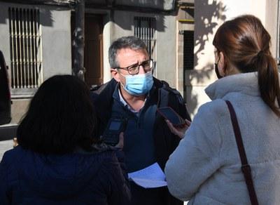 El regidor Rafael Güeto Ortiz ha explicat les mesures (Foto: Ajuntament/Localpres).