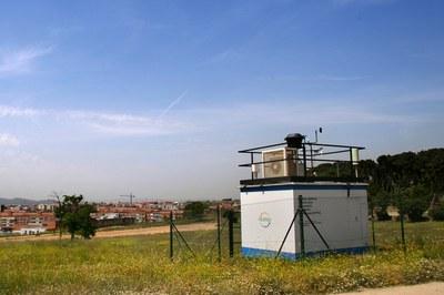 A Rubí, l'estació de la Xarxa de Vigilància i Previsió de la Contaminació Atmosfèrica està ubicada a Ca n'Oriol (foto: Ramon Vilalta).