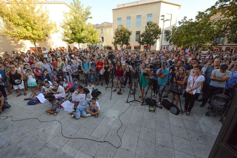 La plaça s'ha omplert (foto: Localpres)